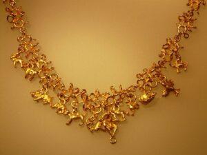 gargantillas de oro fino