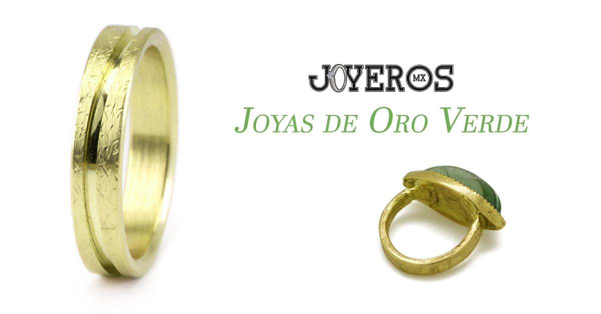 Joyas de Oro verde