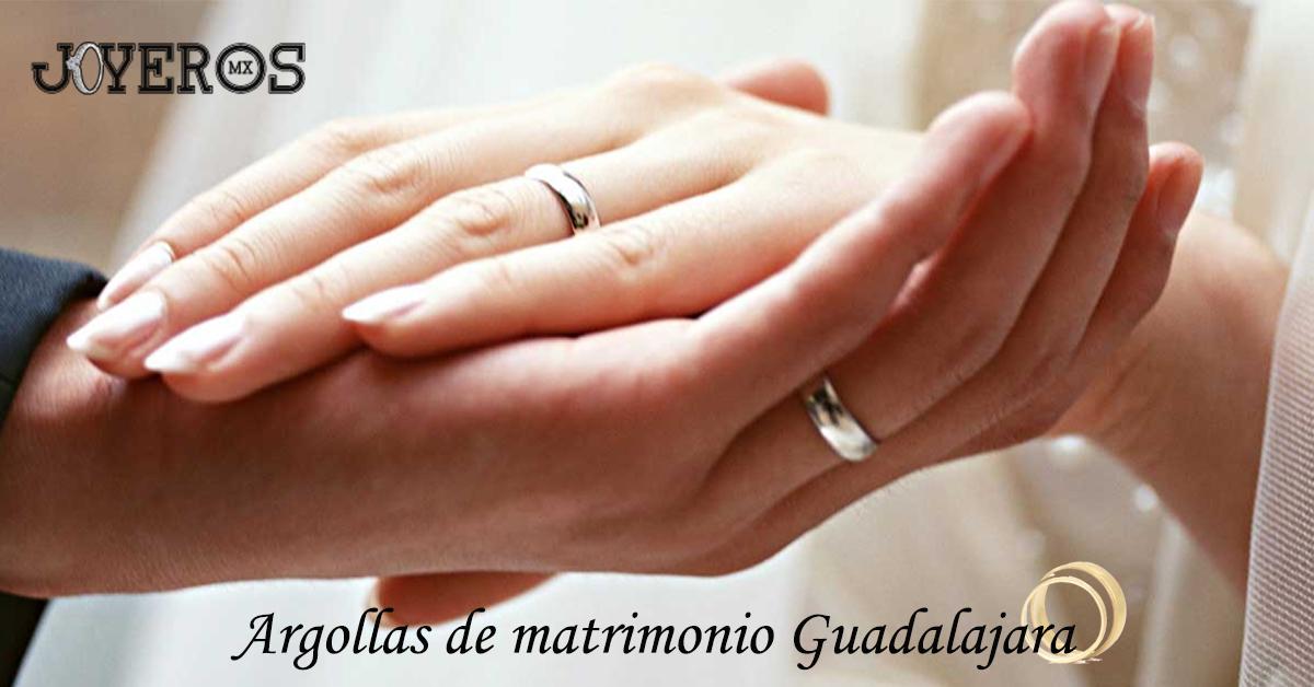 Argollas de matrimonio Guadalajara
