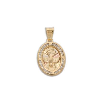 Medalla de Oro para bautizo