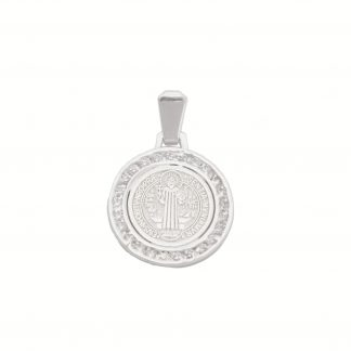 Medalla de plata san benito