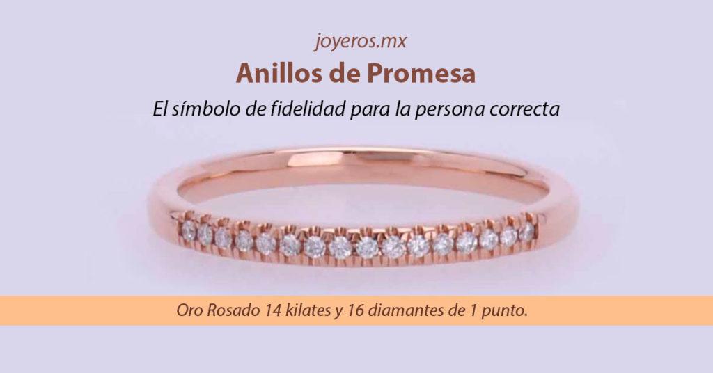 anillos de promesa