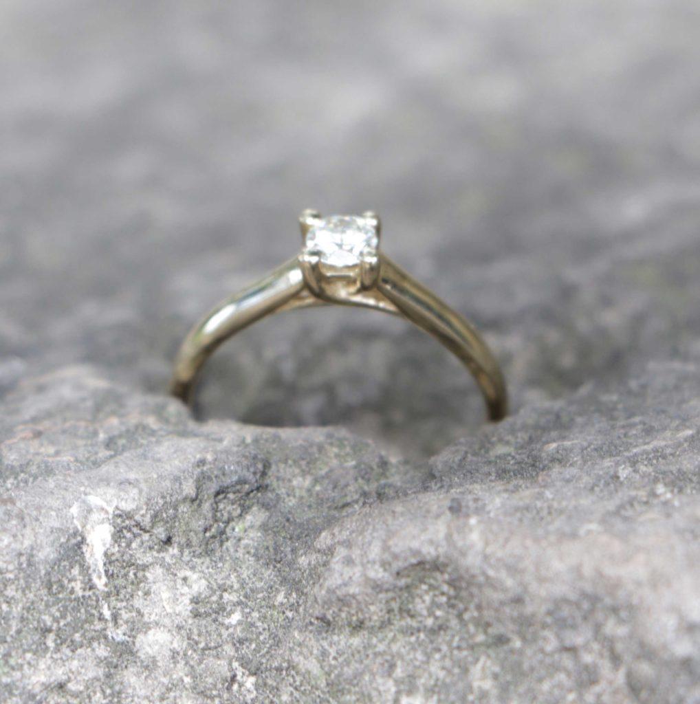 anillo de diamante Guadalajara
