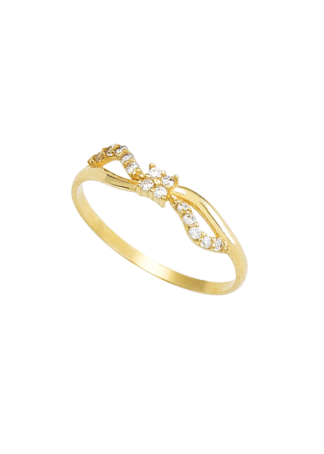 anillo de oro dama