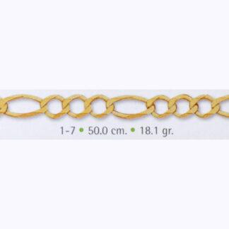 cadena de oro para hombre