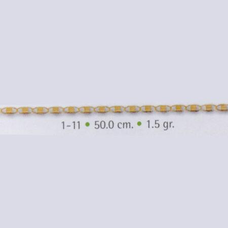 cadena oro gucci