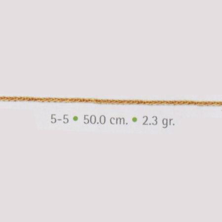 cadena de oro espiga