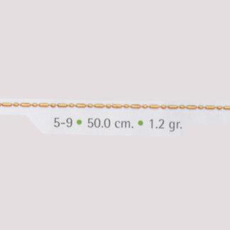 cadena de oro punto y coma