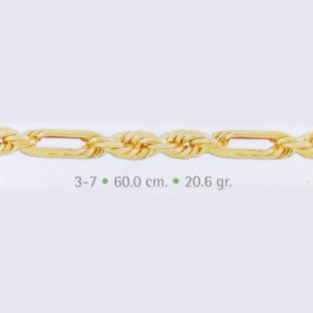 torsal de oro hueco
