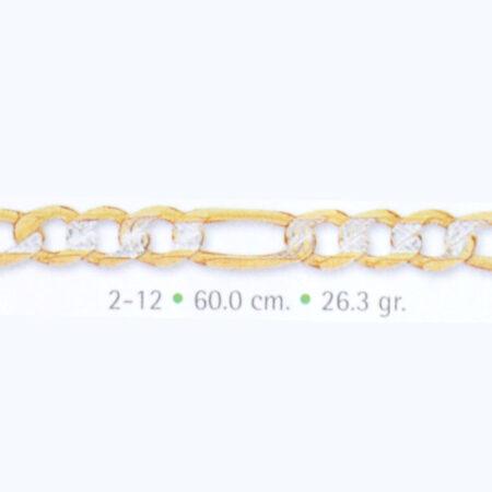 cadena e oro pave