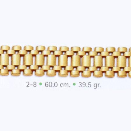cadena rolex de oro
