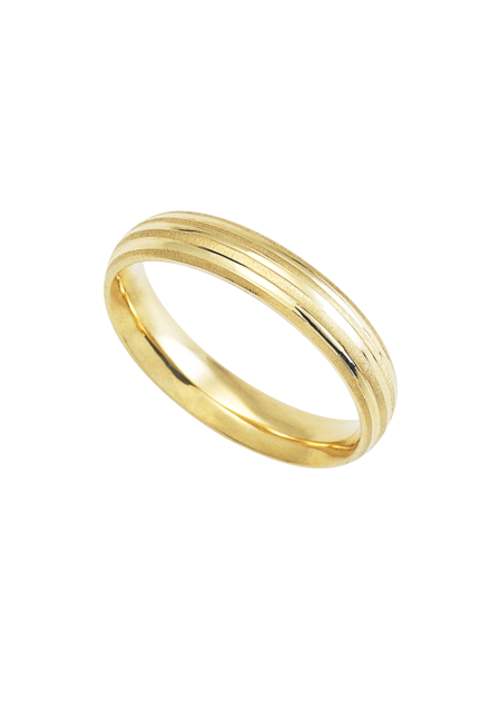 argolla de oro matrimonial