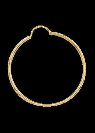 Arracadas de oro grandes