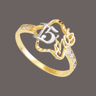 anillo para quinceñera