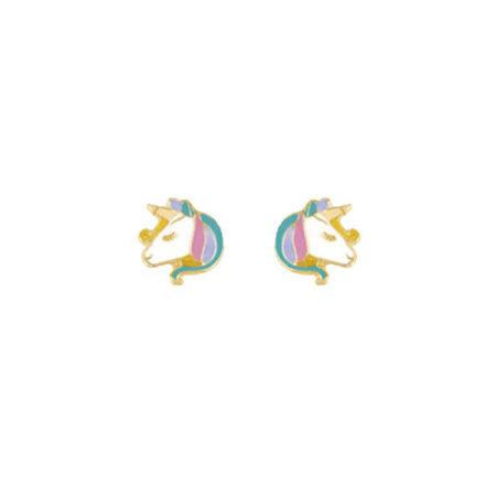 broquel unicornio de oro