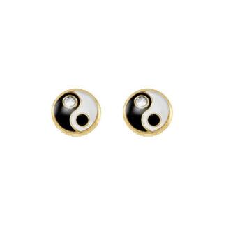 broquel ying yang de oro