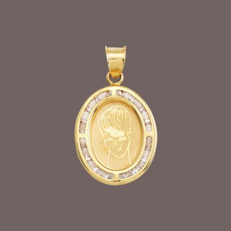 medalla de oro primera comunión