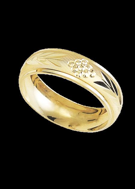 anillo de boda de oro