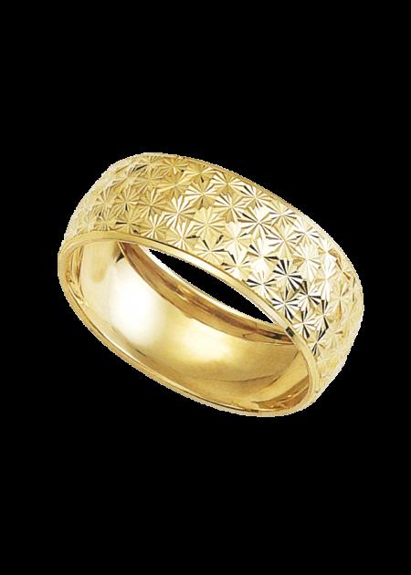argolla ancha de oro