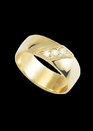 anillo de boda oro 10k