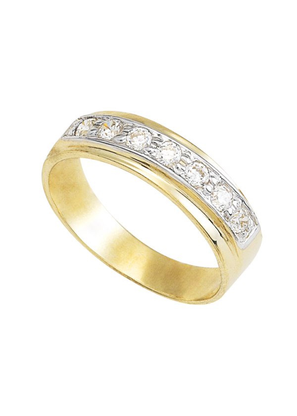 argolla de matrimonio oro 10k