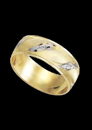 argolla de matrimonio de oro