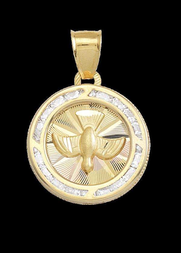 medallas para bautizo