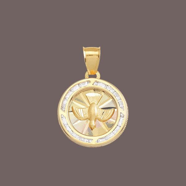 medallas para bautizo de oro