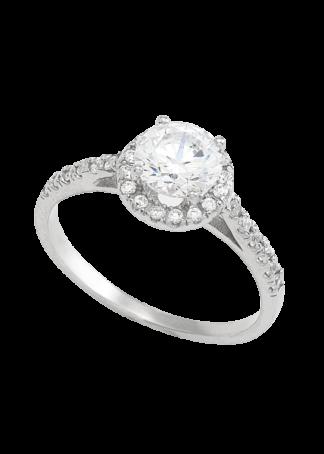 anillo de compromiso oro blanco 01