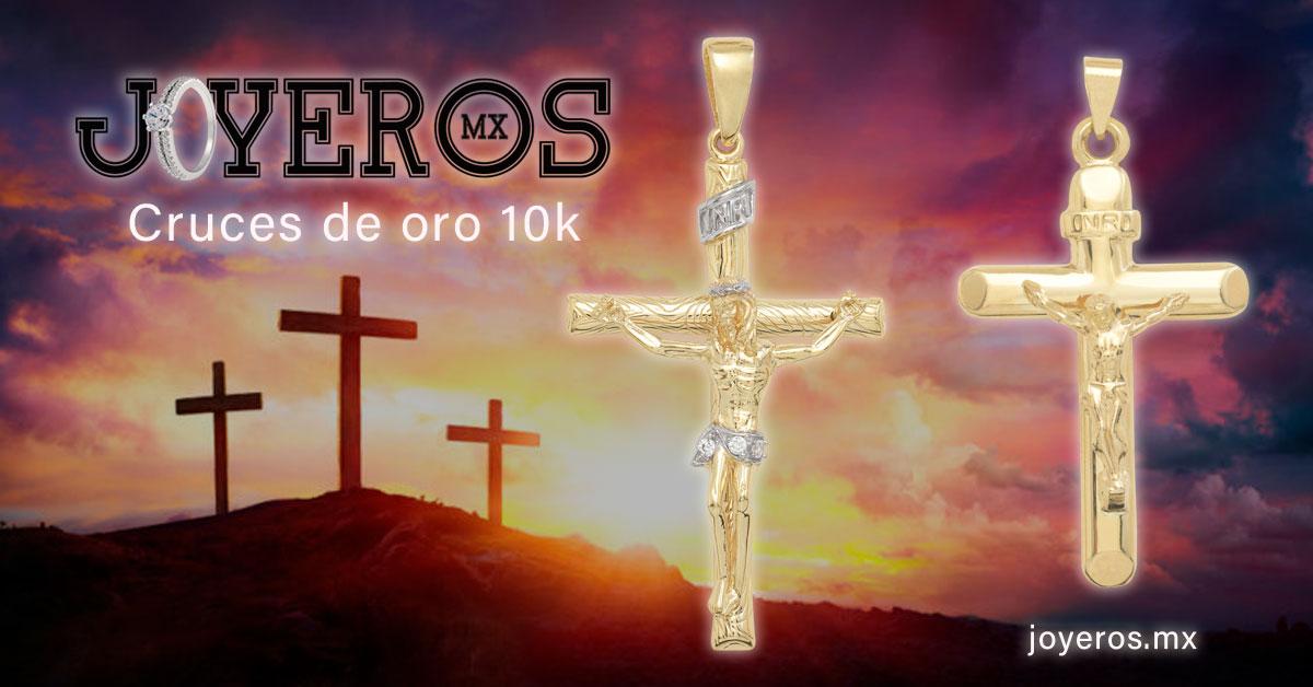 cruces de oro