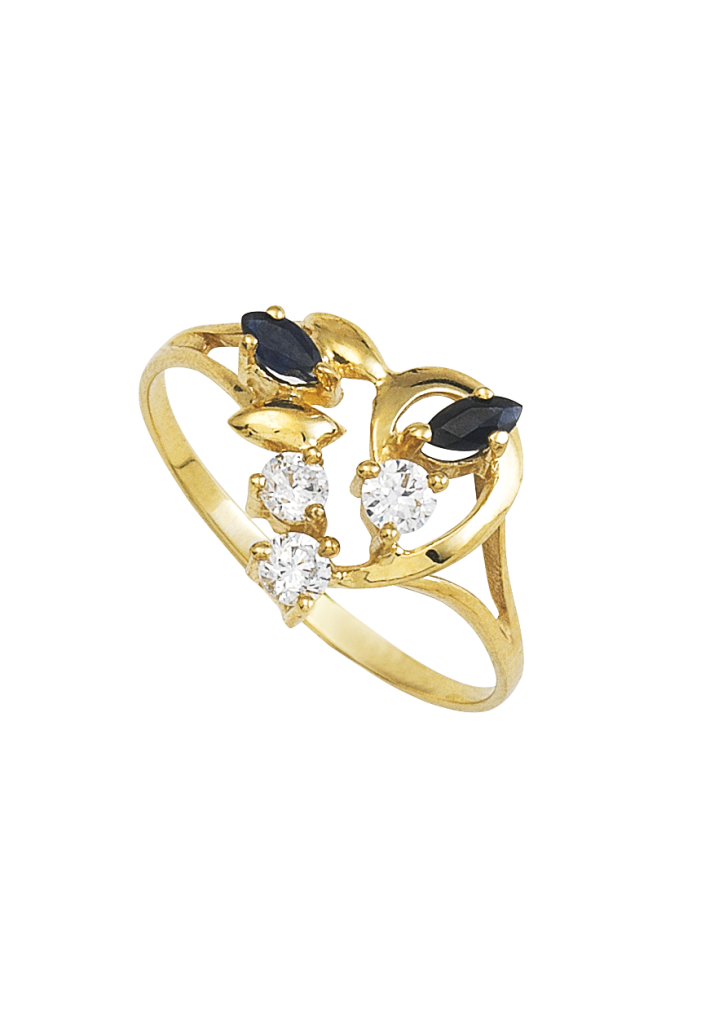 anillos de oro mujer