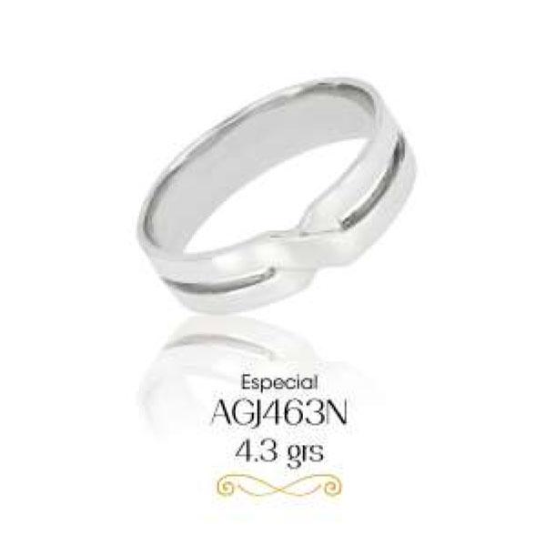 argollas de matrimonio en oro blanco