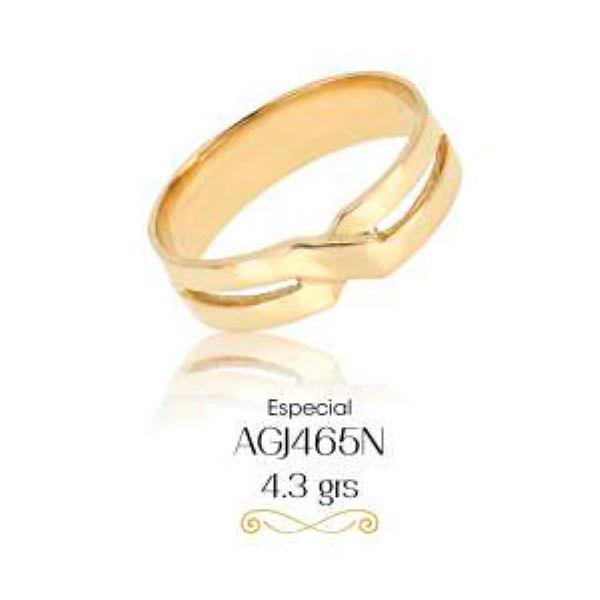 argollas de matrimonio de oro amarillo