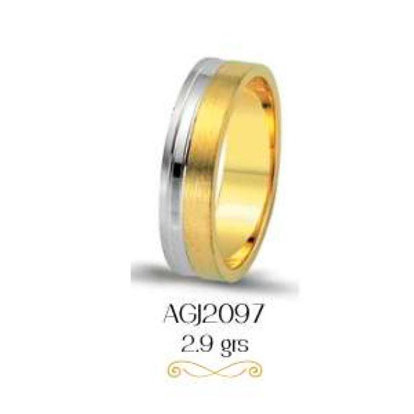 argollas de matrimonio 2 oros