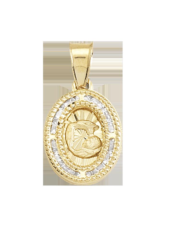 medallas de bautizo