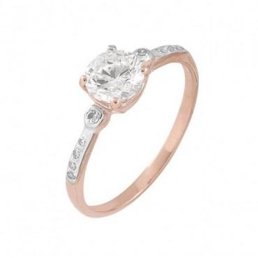anillos de compromiso de oro
