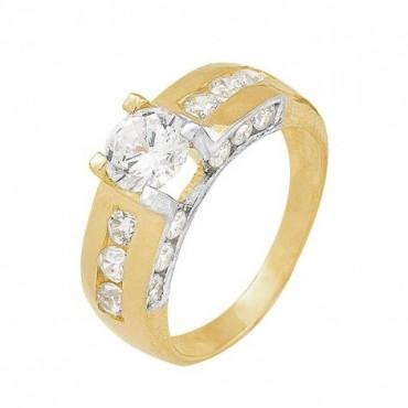 anillos de compromiso de oro grueso