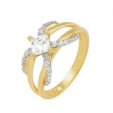 anillos de compromiso de oro 10k