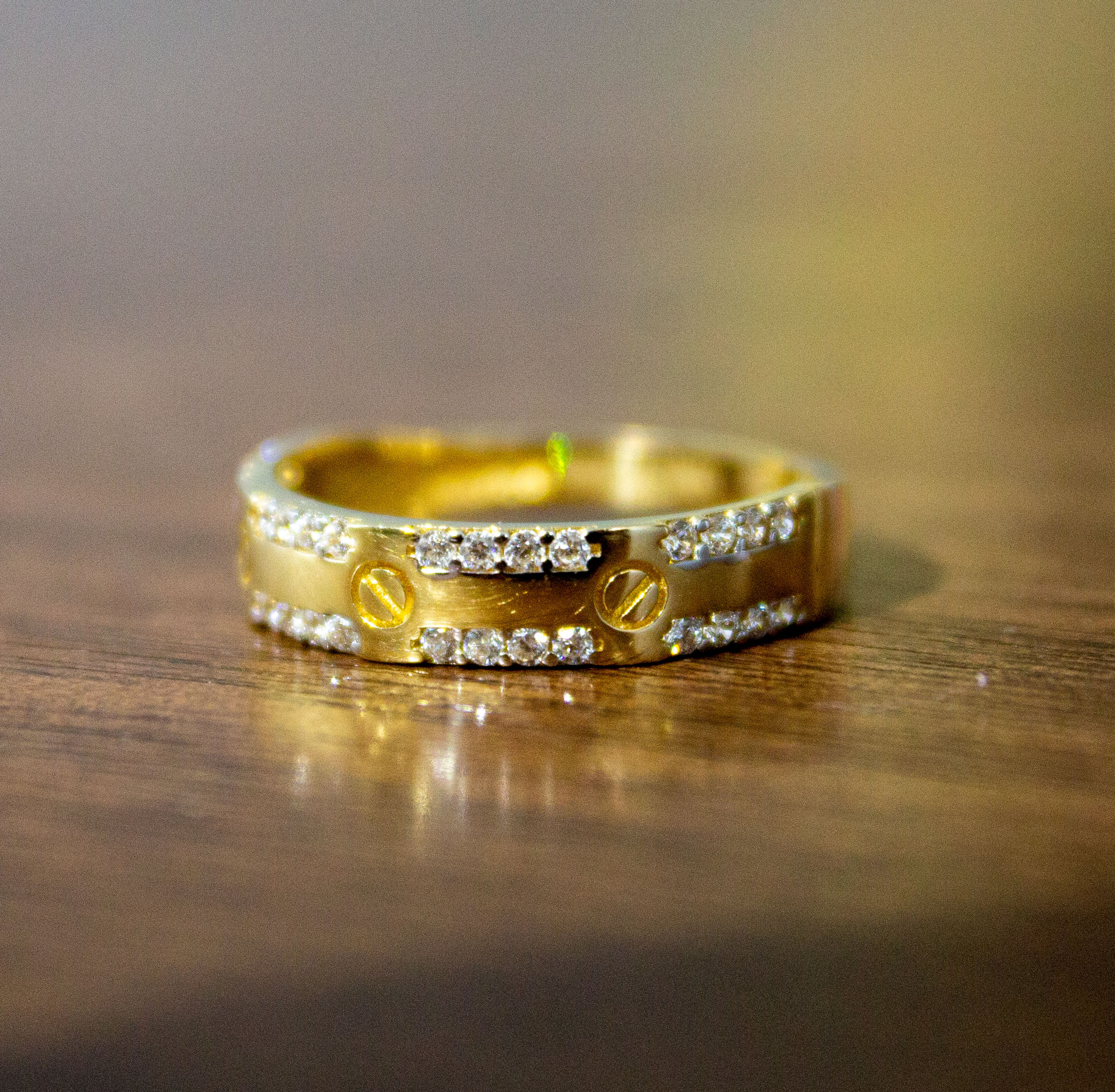 anillo de oro 14 kilates