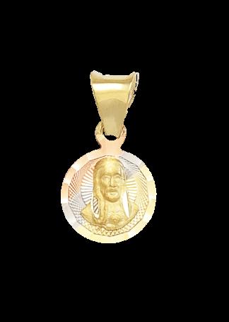 medalla para bautizo de cristo