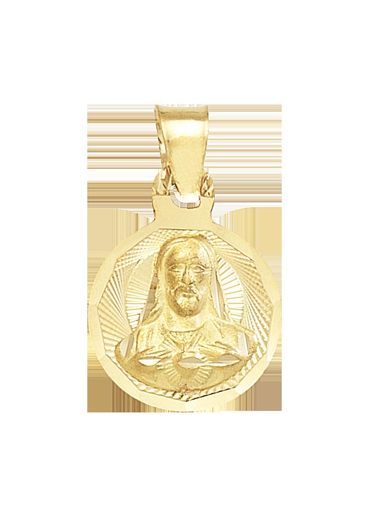 medalla de bautizo sagrado corazón