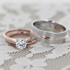 anillos de matrimonio de oro